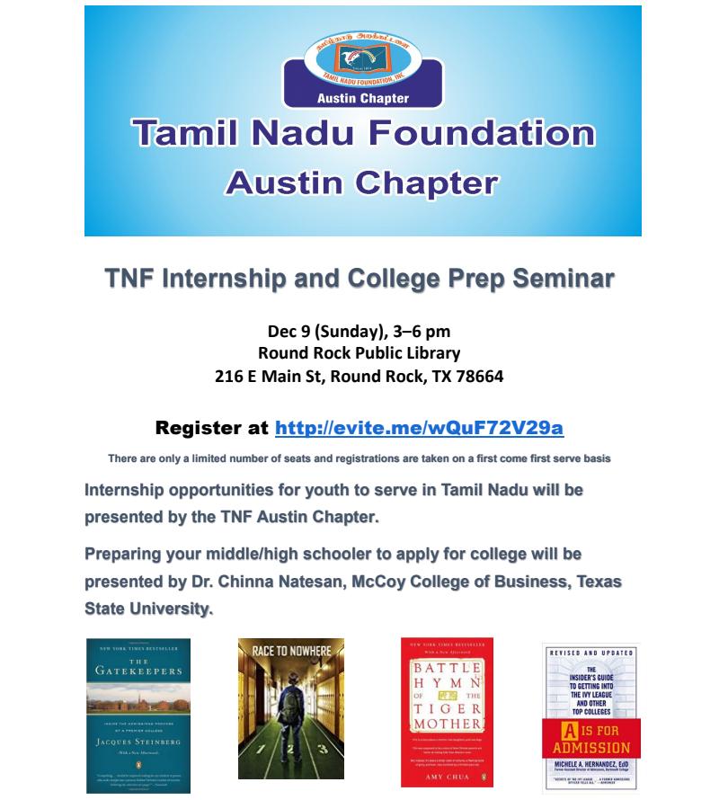 TNF Internship And College Prep Session